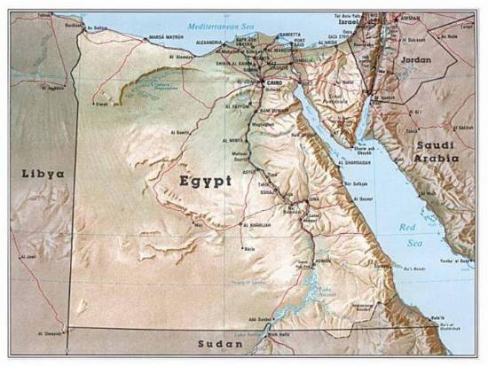egypt minerals
